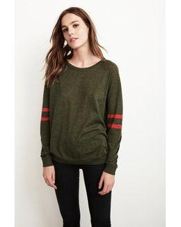 Theana Lux Cotton Raglan Sweater