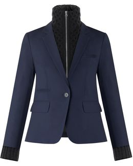 Classic Jacket With Black Upstate Dickey