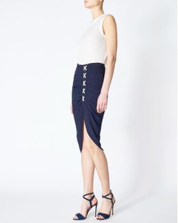 Marlow Lace Up Skirt