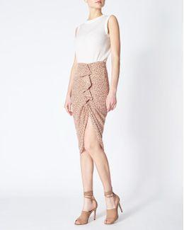 Hazel Ruched Skirt