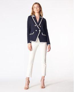 Harriet Cutaway Contrast Dickey Jacket Exclusive