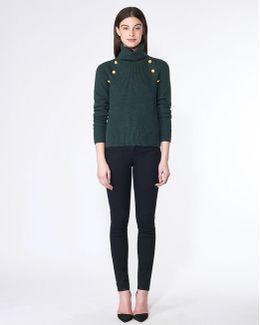 Pearson Button Sweater