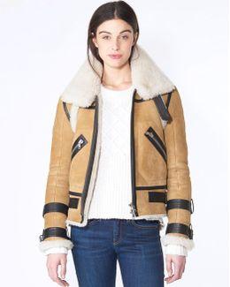 Windsor Pilots Shearling Jacket