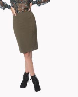 Scuba Pencil Skirt