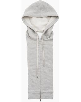 Long And Lean Jacket With Hoodie Dickey