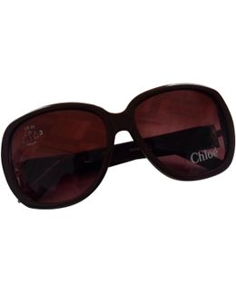 Pre-owned Brown Sunglasses
