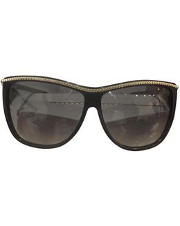Pre-owned Black Plastic Sunglasses