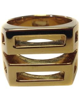 Pre-owned Gold Metal Ring