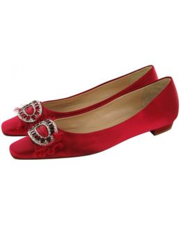 Pre-owned Pink Ballet Flats