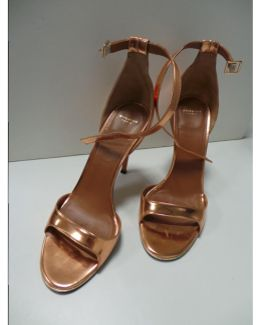 Pre-owned Pink Leather Sandals