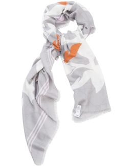 Pre-owned Silk Stole