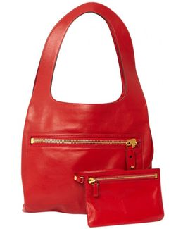 Pre-owned Leather Hand Bag