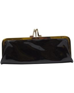 Pre-owned Patent Leather Clutch Bag