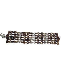Pre-owned Brown Horn Bracelet