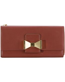 Pre-owned Leather Purse