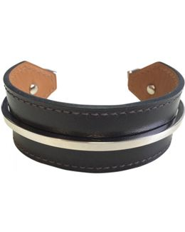 Pre-owned Leather Jewelry
