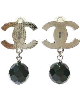 Pre-owned Silver Metal Earrings