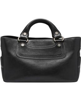 Pre-owned Boogie Handbag In Leather