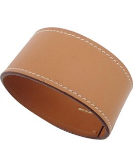 Pre-owned Leather Bijou