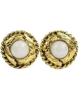 Pre-owned Gold Metal Earrings