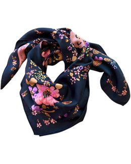 Pre-owned Silk Scarf