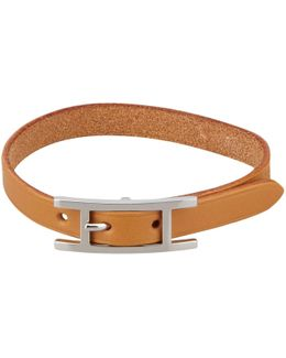 Pre-owned Hapi Leather Bracelet