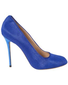 Pre-owned Pony-style Calfskin Heels