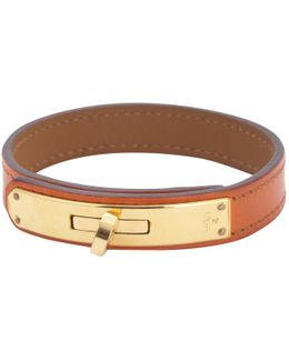 Pre-owned Kelly Double Tour Leather Bracelet