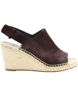Pre-owned Pony-style Calfskin Mules & Clogs