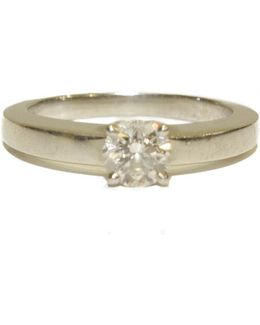 Pre-owned White Gold Ring