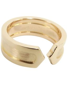 Pre-owned C Pink Gold Ring