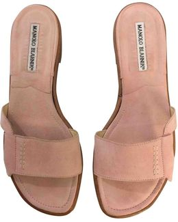 Pre-owned Sandal