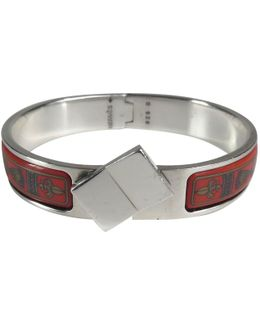 Pre-owned Clic H Silver Bracelet
