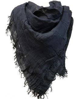 Pre-owned Linen Scarf
