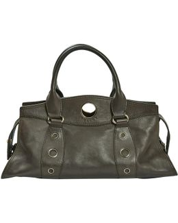 Pre-owned Leather Handbag