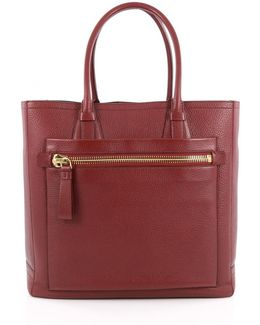 Pre-owned Red Leather Handbag