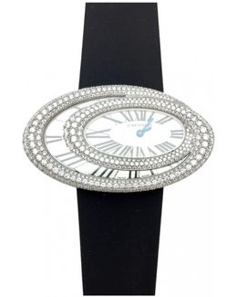 Pre-owned White Gold Watch