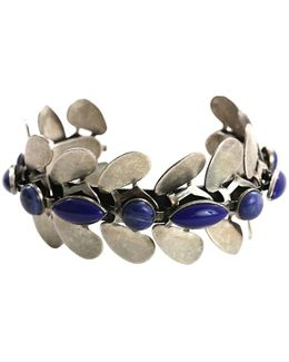 Pre-owned Blue Metal Bracelet