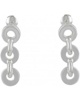 Pre-owned Voltige Silver Earrings