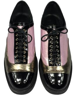 Pre-owned Patent Leather Flats