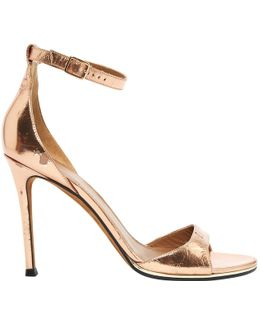 Pre-owned Patent Leather Sandals