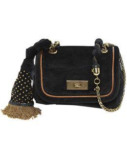 Pre-owned Velvet Clutch Bag
