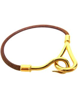Pre-owned Jumbo Leather Bracelet