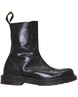 Pre-owned Leather Boots