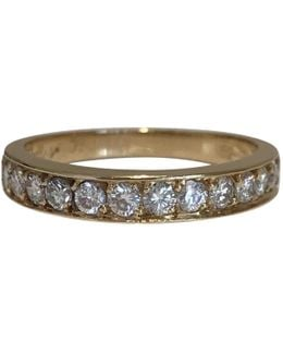 Pre-owned Yellow Gold Ring