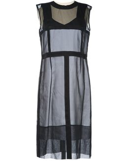 Pre-owned Silk Mid-length Dress