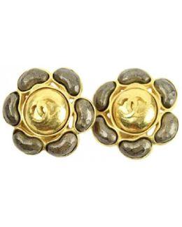 Pre-owned Metal Earrings