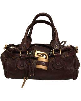 Pre-owned Paddington Leather Handbag