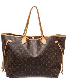 Pre-owned Neverfull Cloth Tote