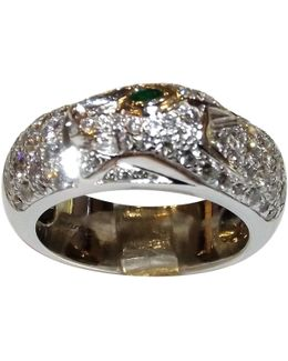 Pre-owned Panthère White Gold Ring